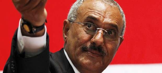 El presidente de Yemen, Ali Abdulá Saleh