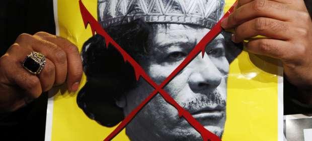 Protestas contra Gadafi