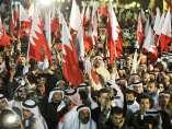 Manifestantes en Bahréin