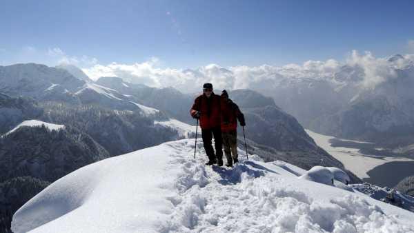 Esquí en la cima