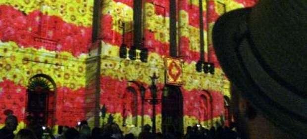 La bandera catalana.