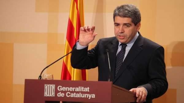 El portavoz del Govern, Francesc Homs.