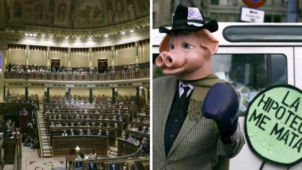 El Parlamento y los embargos