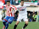 Reyes y Navarro en el Atlético - Sevilla