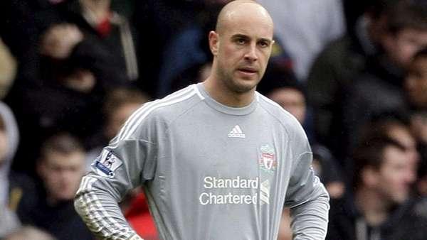 Pepe Reina, del Liverpool