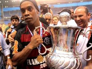 Ronaldinho con el Flamengo