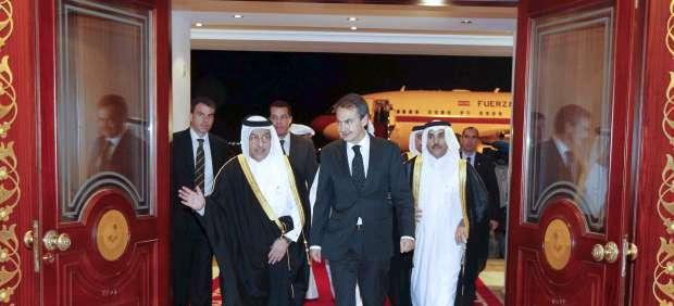 Zapatero, en Catar