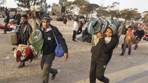 Huida de Libia