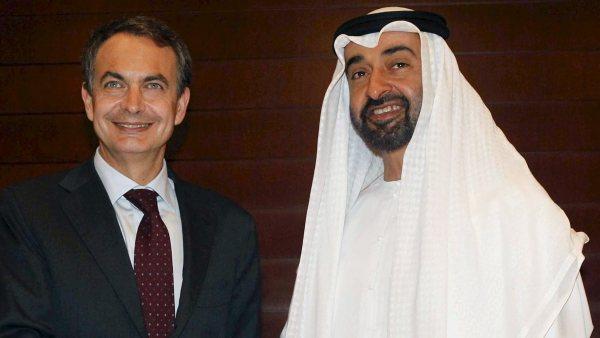 Zapatero en Abu Dhabi