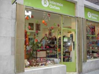 Un establecimiento de Intermón Oxfam