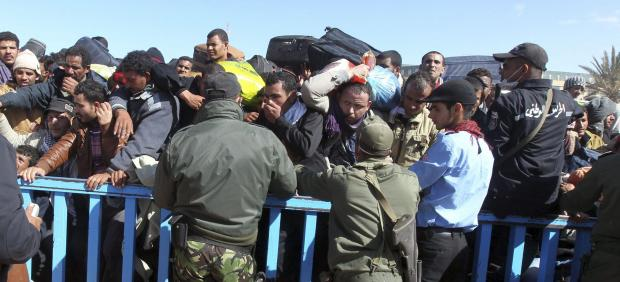 Frontera de Libia y Túnez