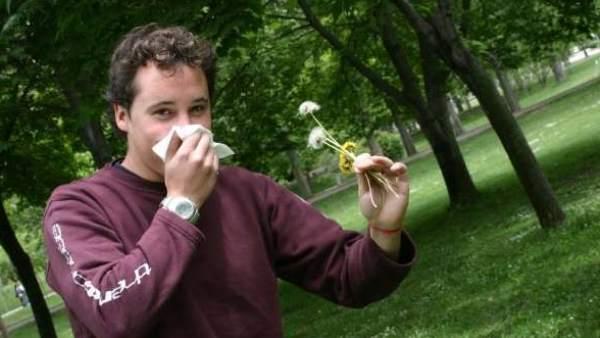 Alergia en primavera