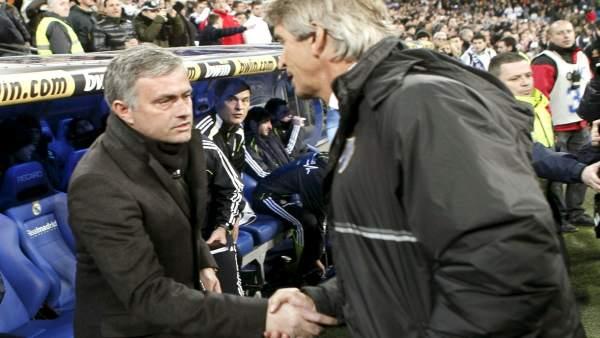 Mourinho y Pellegrini