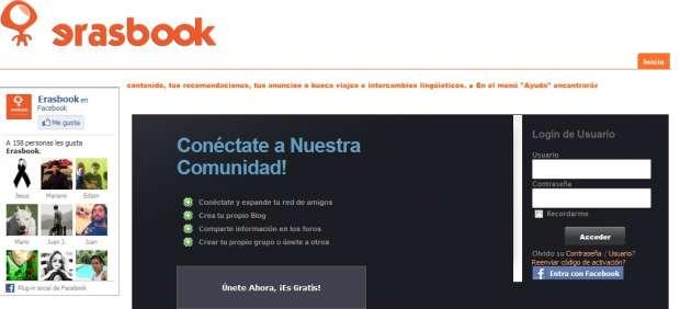 Crean Erasbook, una red social para impulsar Salamanca y atraer a nuevos erasmus