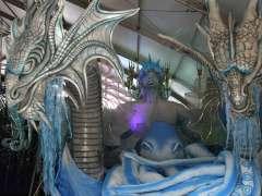 Últimos retoques a las carrozas del Carnaval de Río
