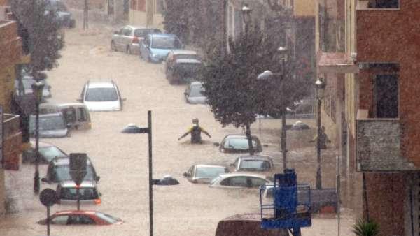 Las lluvias colapsan Algeciras