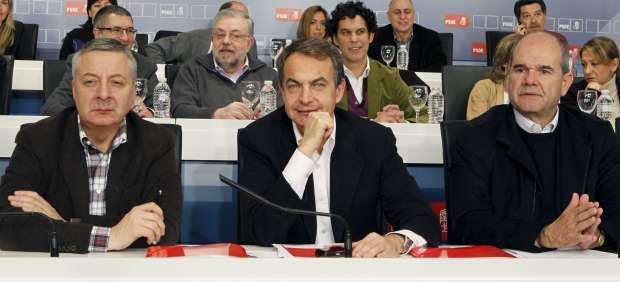 Zapatero, Blanco y Chaves
