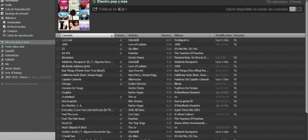 Las discográficas obtuvieron 100 millones de euros en 2010 gracias a sus acuerdos con Spotify