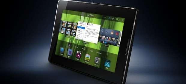 Playbook, la tableta de los creadores de Blackberry, también tendrá tienda de música digital