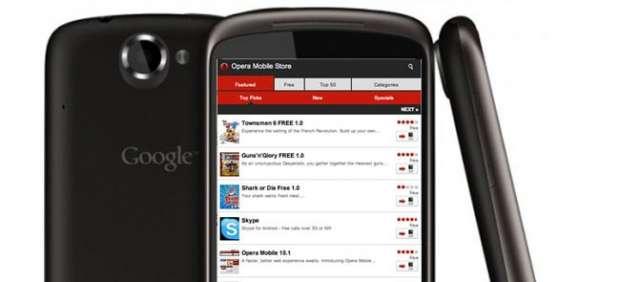 Opera estrena tienda de aplicaciones para móviles