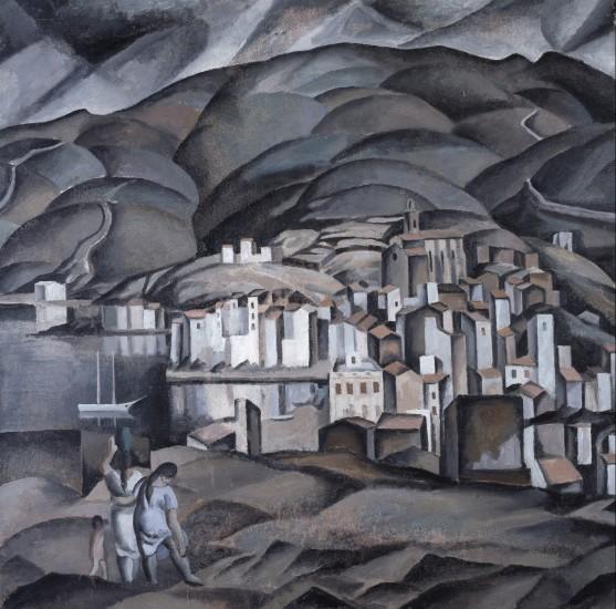 'Cadaqués visto desde la Torre de les Creus', Salvador Dalí