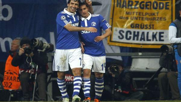 Raúl y Gavranovic