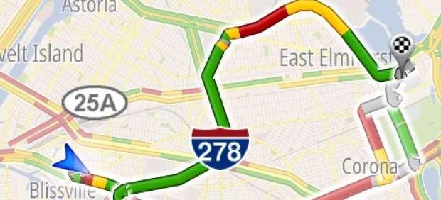El GPS de Google y otras aplicaciones para evitar atascos en carretera
