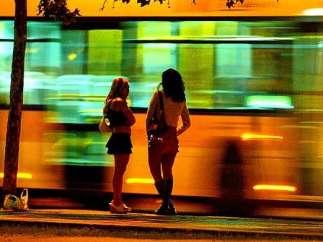 Prostitución en Cataluña.