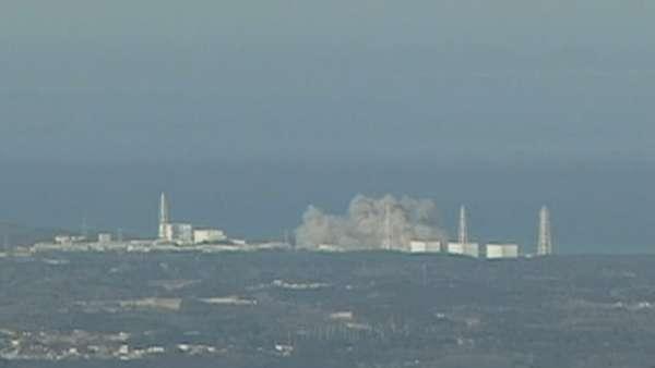 Explosión en una central nuclear