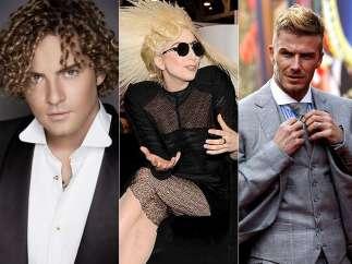 Bisbal, Gaga y Beckham