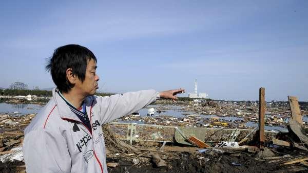 Señalando a Fukushima