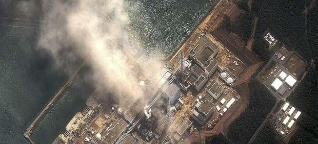 La central nuclear de Fukushima, tras el terremoto