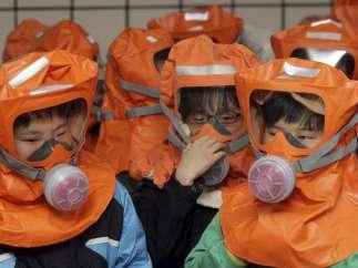 Simulacro nuclear en Seul