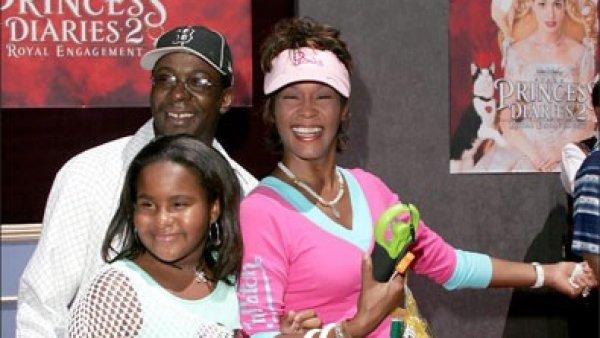 Whitney Houston, 'Krissi' y Bobby Brown
