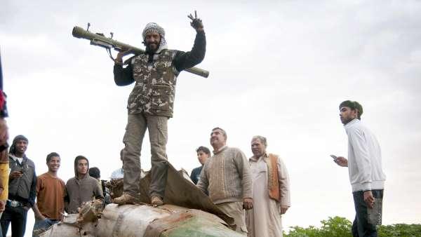 Insurgentes en Libia