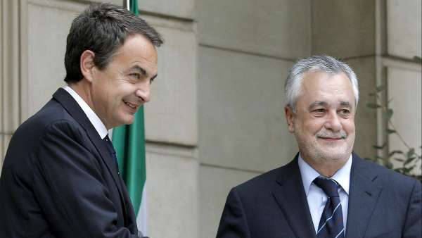 Zapatero y Griñán