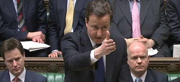 David Cameron pide el apoyo de los Comunes a la acción militar en Libia