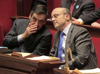 François Fillon y Alain Juppé