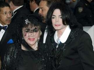 Junto a Michael Jackson