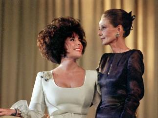 Con Audrey Hepburn
