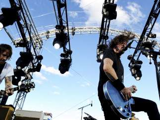 Foo Fighters en concierto
