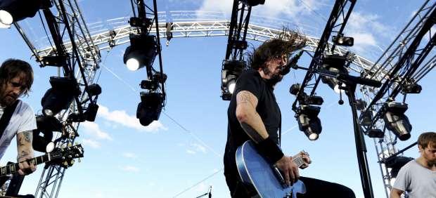 Foo Fighters en concierto