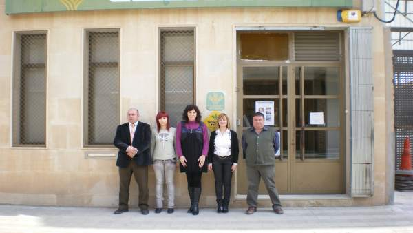 Caixa rural Sant Fortunat de Castelldans (Lleida).
