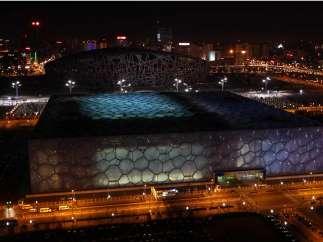 Estadio Nacional y Centro Acuático de Pekín