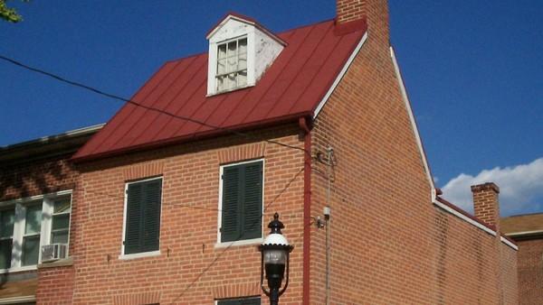 La casa-museo de Edgar Allan Poe, en el lado oeste de Baltimore.