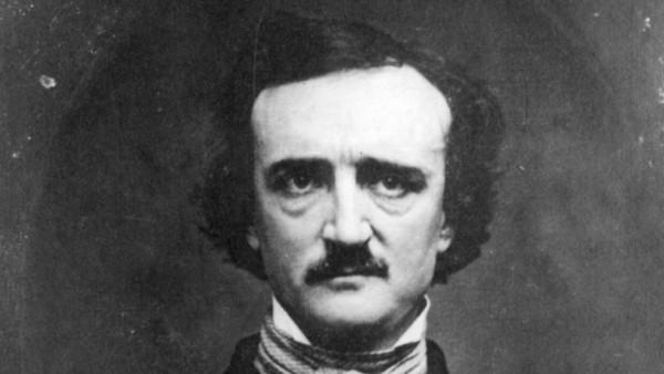 Edgar Allan Poe, en un daguerrotipo de 1848