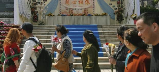 Ceremonia por las víctimas