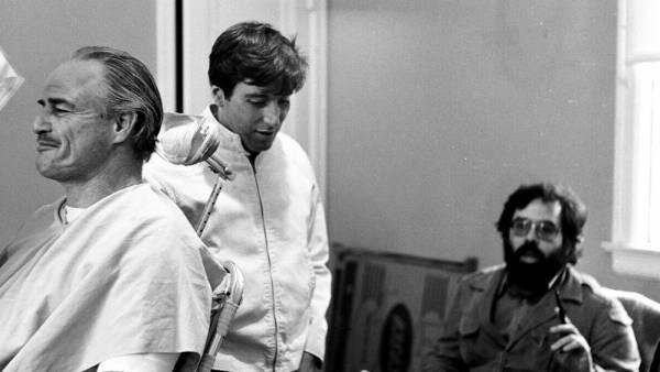 Brando se rie, Pacino reflexiona, Coppola ordena