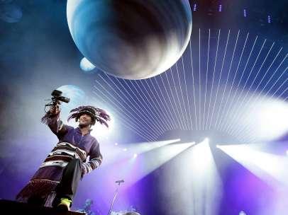 Jamiroquai en concierto