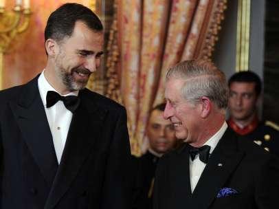 Don Felipe y el príncipe Carlos